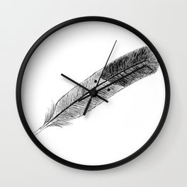 Lost in Flight Wall Clock