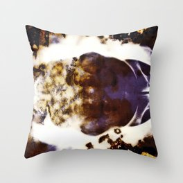 Clouds Obscura Throw Pillow