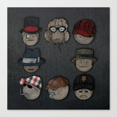 You like hats? I'm mad about hats! Canvas Print