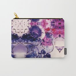 Wine & Flowers Photographic Pattern #2 Carry-All Pouch