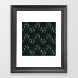 Abstract geometric pattern. Framed Art Print