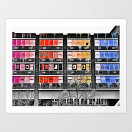 Project in Colour Art Print