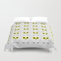 hedwig Duvet Covers featuring Hedwig by Jessie Upward