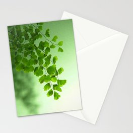Green is the Colour Stationery Cards