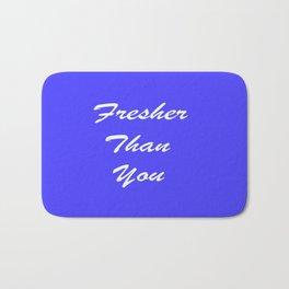 Fresher Thank You : Periwinkle Bath Mat
