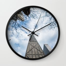 Water Tower Place Wall Clock