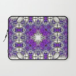 Palm Leaves Abstract Art Pattern Laptop Sleeve