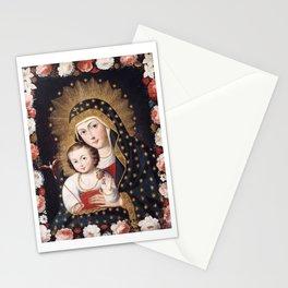 Madonna and Child with Bird, 1745 - Peru Stationery Cards