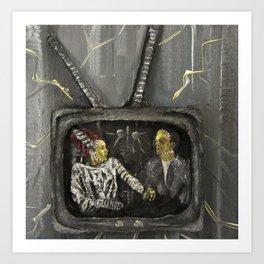 TV Casualty Art Print