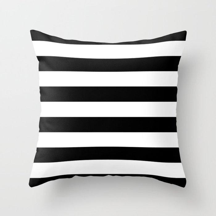 Black White Throw Pillows Society6