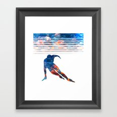 LEAN Framed Art Print