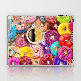 Donuts & Coffee Laptop & iPad Skin