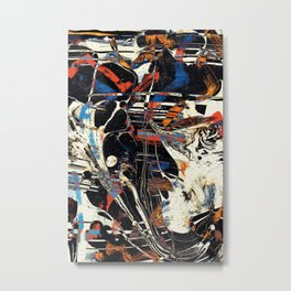 Pattern № 20 Metal Print