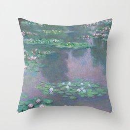 Water Lilies Monet 1905 Throw Pillow