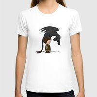 hiccup T-shirts featuring He's Your Dragon, Hiccup by mikaelak