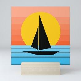The Sailboat Mini Art Print