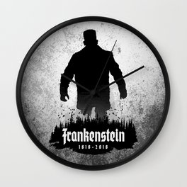 Frankenstein 1818-2018 - 200th Anniversary Wall Clock