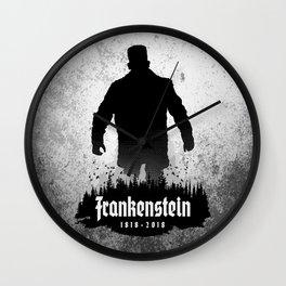 Frankenstein 1818-2018 - 200th Anniversary Wall Clock