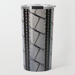 Tread pattern truck tire Travel Mug