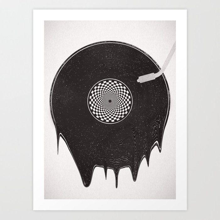 A Hot Record Art Print
