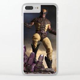 X-Men: Sentinel Diorama Series I (Logan) Clear iPhone Case