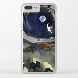 Flying Dreams Clear iPhone Case