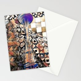 seattle scapes Stationery Cards
