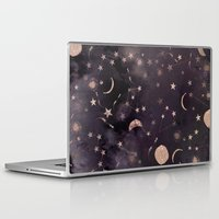 whimsical Laptop & iPad Skins featuring Constellations  by Nikkistrange