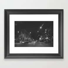 Wicker Park Framed Art Print