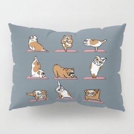English Bulldog Yoga Pillow Sham