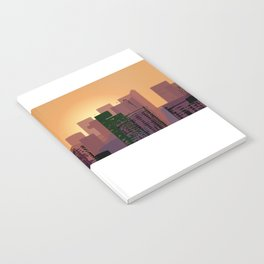 Sunset over San Francisco Notebook