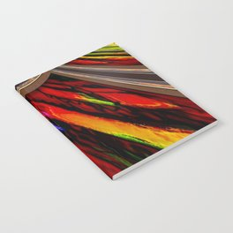 Pouring of Great Dynamic Color Notebook