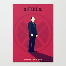 Agent Coulson (Agents of SHIELD S02) Canvas Print