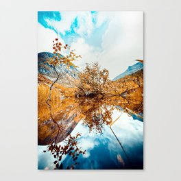 Norway dreams Canvas Print