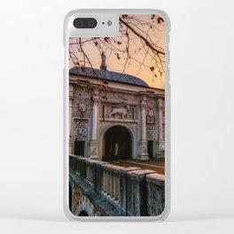 San Thomas gate Clear iPhone Case