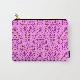 victorian paisley pink Carry-All Pouch