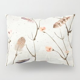 Feather Tree Pillow Sham