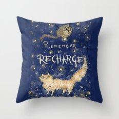 Recharge Throw Pillow