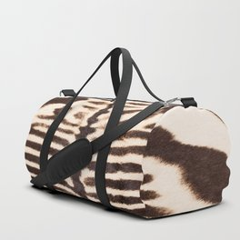 Zebra - stripes - classic - #society6 #buyart Duffle Bag