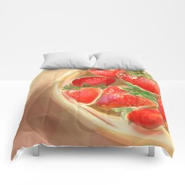 fraises. Comforters