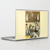 cafe Laptop & iPad Skins featuring Taxidermy Cafe by CHAR ODEN