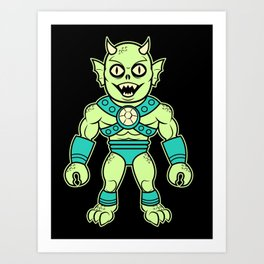 Murgus, The Sea Dewelling Sea Demon of the Sea Art Print