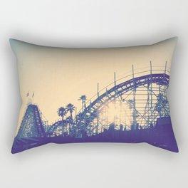 Coast Into The Sun Rectangular Pillow