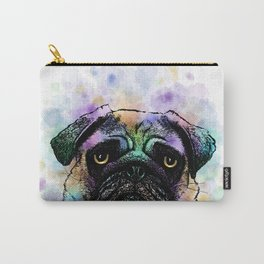 Funny Pug Dog 156 Carry-All Pouch