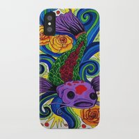 koi fish iPhone & iPod Cases featuring Koi Fish by Laurkinn12