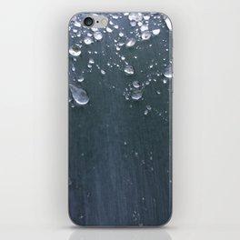 Dark Leaf with Dew iPhone Skin