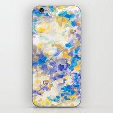 Canopy Blue iPhone & iPod Skin