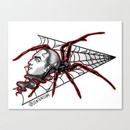 Vampire Spider Canvas Print