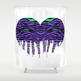 Stripes three Shower Curtain
