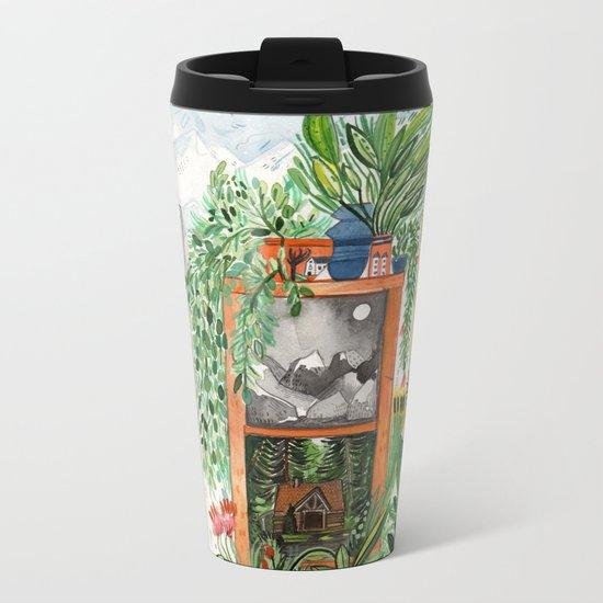 The Jungle Room Metal Travel Mug